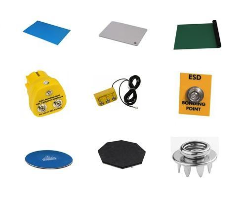Desco ESD Work Surface Matting and ESD Grounding