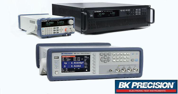 BK Precision test and measurement equipment