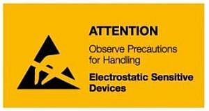 ESD Warning Sign