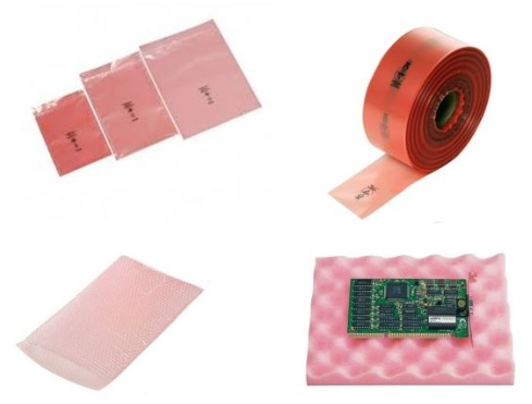 Pink Conductive Packaging