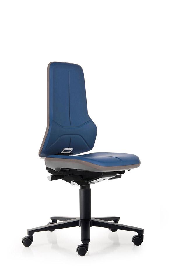 9573L Lab werkstoel Neon